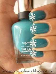konad covered nails: konad