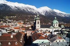 Innsbruck, Austria Innsbruck, Austria, Mount Everest, Mountains, Nature, Travel, Naturaleza, Viajes, Destinations