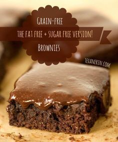 Not only are these the fudgiest brownies ever, but these #grainfree and #dairyfree fudge brownies are entirely date sweetened and have a healthier peanut butter chocolate fudge frosting!