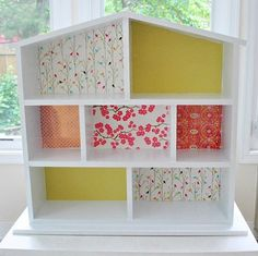 Building A House… For Dolls Young House Love Dollhouse Bookcase, Wooden Dollhouse, Diy Dollhouse, Dollhouse Furniture, Diy Furniture, Homemade Dollhouse, Barbie Furniture, Young House Love, Muñeca Diy