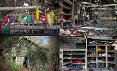 Colourful past: Haunting images of abandoned textile mill  … OMG I am so moved by these images. I can hardly stand it.