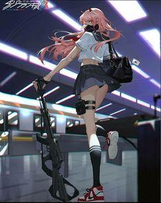 Anime Sexy, Manga Sexy, Manga Anime, Yandere Anime, Fanarts Anime, Otaku Anime, Manga Art, Cool Anime Girl, Kawaii Anime Girl