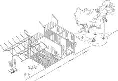 Something Fantastic Belgium Communal Housing layered ISO Section
