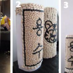 DIY ddeok columns