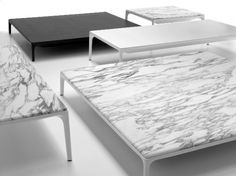 amazing marble table by MDF Italia