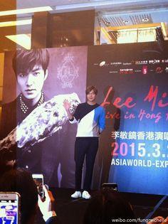 Lee Min Ho - LIVE in Hong Kong Press Conference - 21.03.2015