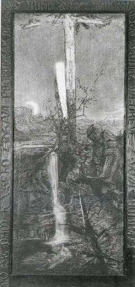 František Bílek Jak paprsek Slunce na dřevě života I Found You, Tomorrow Will Be Better, My Dream, Horror, Dark