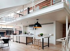 A loft in the industrial environment