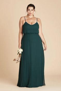 Gwennie Plus Size Bridesmaid Dress in Emerald – Birdy Grey Emerald Green Bridesmaid Dresses, Bridesmaid Dresses Under 100, Plus Size Wedding Guest Dresses, Affordable Bridesmaid Dresses, Bridesmaid Dresses Plus Size, Bridesmaids, Minimalist Beauty, Floor Length Gown, Plus Size Beauty