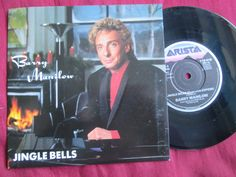 Barry Manilow Jingle Bells 7inch 45 UK Vinyl Picture Sleeve ...