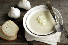 outrageously good garlic soup
