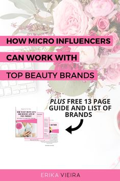 How micro-influencers can work with top beauty brands with NurberXO. Beauty and the Vlog podcast explores the phenomenon of micro-influencers. Beauty Youtubers, Instagram Influencer, Blogger Tips, Social Media Tips, About Me Blog, Erika, Skin Care, Blogging, Successful Entrepreneurs