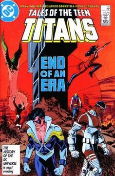 """: This story is a reprint of New Teen Titans (Volume This story is a reprint of New Teen Titans (Volume Old Comic Books, Comic Book Covers, Comic Book Heroes, Dc Comics, The New Teen Titans, George Perez, Classic Comics, Detective Comics, Got Books"