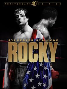 Rocky Balboa, a small-time boxer, gets a supremely rare chance to fight heavy-weight champion Apollo Creed in a bout in which he strives to go the distance for his self-respect Sylvester Stallone, Rocky Balboa Movie, Rocky Film, Frases Rocky, Rocky 1976, Stallone Movies, Andre Luis, 1976 Movies, 80s Movies