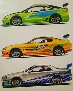 Nissan Gtr R34, Gtr Car, Street Racing Cars, Car Illustration, Tuner Cars, Japan Cars, Car Drawings, Top Cars, Modified Cars