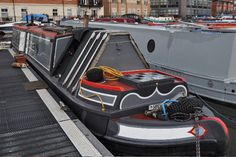 Narrowboat Interiors, Dutch Barge, Narrow Boat, Boat Fashion, Canal Boat, Colour Schemes, Boats, British, Exterior