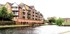 The canal at Walsall. Fotosketcher sketch