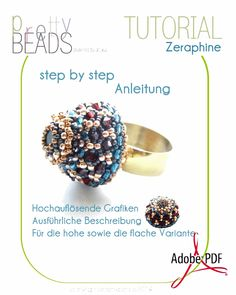 prettybeads: New Tutorials   Zeraphine & Mrs. Robinson