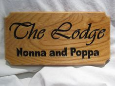 "130x400x18mm 5 1/3x16x 3/4"" Solid Oak Raw Sign Customised with your font and text. By SignaRoo"