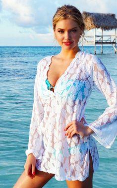 Kate Upton modeling for Beach Bunny Swimwear (2012)