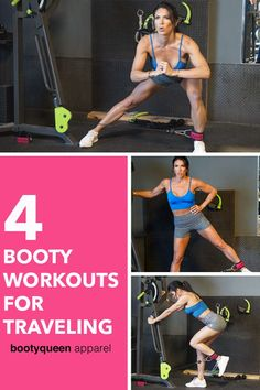 Hotel Workouts for Travel Queens Lifting Workouts, Fit Board Workouts, Fun Workouts, Glute Workouts, Hotel Workout, Travel Workout, Athletic Outfits, Athletic Wear, Gym Workout Plan For Women