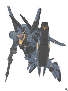 MSF-007 Gundam Mk.III (Titans Colors) by Mousanjiq on DeviantArt