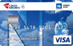 Czech Airlines | VISA Clasic | Nomos Bank