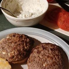 Lamb Burgers Allrecipes.com