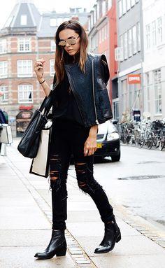 #EvangelieSmyrniotaki looking completely fabulous in Copenhagen. #StyleHeroine