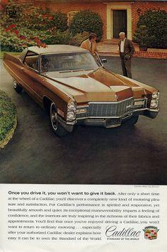 1967 Cadillac ad