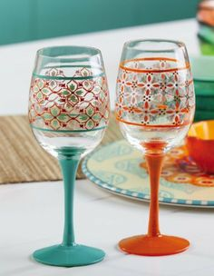 Eastern Spice,Wine Glass 12 oz,Glass,3.5x9 Inches by Cypress Home. $14.99. Save 33% Off!