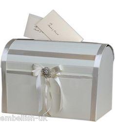 NEW ~ Elegant Ivory Wedding Post Box ~ Wedding ~ Christening ~ Anniversary    http://cgi.ebay.co.uk/ws/eBayISAPI.dll?ViewItem=120959317603#
