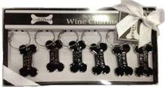 Soooo cute!! http://www.amazon.com/shops/LorisPetCare Amazon.com: Set of 6 Wine Charms: Pet Supplies