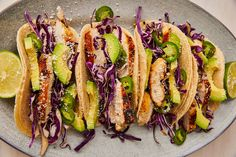 Tequila-Lime Chicken Tacos = Best. Dinner. Ever.Delish