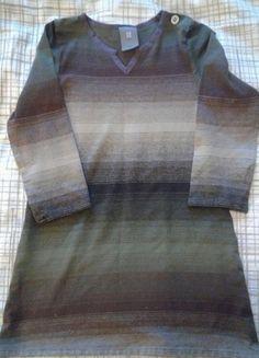 À vendre sur #vintedfrance ! http://www.vinted.fr/mode-enfants/robes/21834462-robe-manches-longues-kaki-marron-anne-willi