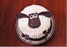 Sheep cake.....LA VOY A HACER PARA MIS SOBRIS :)