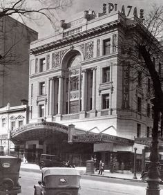 The Regent Theatre on Collins St,Melbourne,Victoria as originally built and the Plaza below. Melbourne Victoria, Victoria Australia, Melbourne Australia, Australia Travel, Terra Australis, Melbourne Architecture, Melbourne Suburbs, Largest Countries, Historical Images