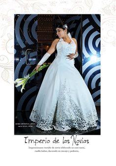 Vestido: www.imperiodenovias.com Novia: SUSAN NIETO