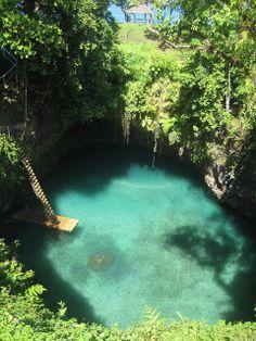 To Sua Ocean Trench (Lotofaga village, Samoa)