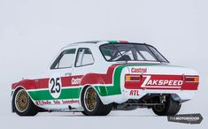 Built to drive hard: Kiwi Zakspeed Escort heads to World Time Attack 2015 — The Motorhood Ford Sport, Ford Rs, Car Ford, Ford Motorsport, Classic Road Bike, Escort Mk1, Amc Javelin, Truck Paint, Ford Classic Cars