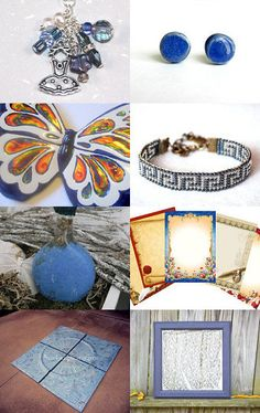 Happy Blues! by Heather on Etsy--Pinned with TreasuryPin.com
