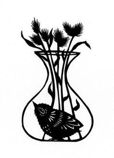 Bird in a Bud Vase   Flickr - Photo Sharing!