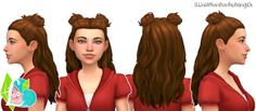 Sims 4 CC's - The Best: Hair by SimLaughLove
