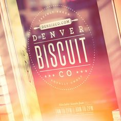 Denver Biscuit Co. #logo #design #retro