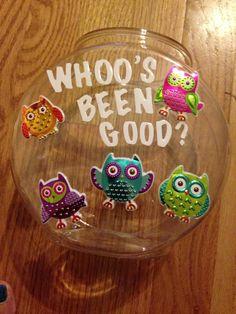 Owl Reward Jar