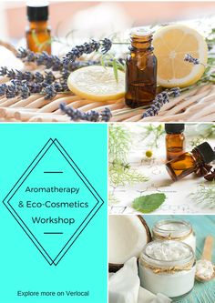 Make a customized face and body cream while learning some basic knowledge about aromatherapy and eco-cosmetics #DIY #Chicago