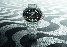 Omega Seamaster Diver, Rio 2016, Breitling, Omega Watch, Rolex Watches, Accessories, Passion, Olympic Games, Clock Art