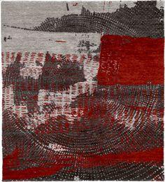 World Rugs | Tibetan Rugs 1 | Fragmented IV Mohair Hand Knotted Tibetan Rug