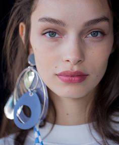 Luma Grothe in Miu Miu earrings