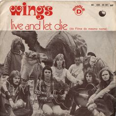 PAUL McCARTNEY & WINGS Live And Let Die 1973 by Beats45Records, $34.99